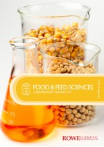 Rowe Scientific Food and Feed Catalogue cover