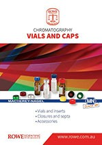 Chromatography Catalogue cover