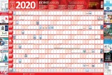 Rowe Scientific 2020 Wall Planner