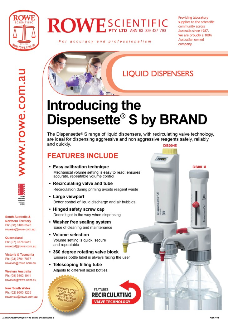 453 - Brand Dispensette S