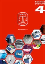 Rowe Scientific product catalogue