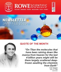 Rowe Scientific Newsletter January February 2019