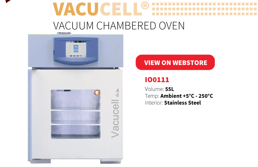 Vacucell Vacuum Chambered Oven