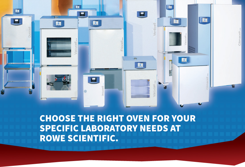Choose the right oven for your specific laboratory needs at Rowe Scientific.