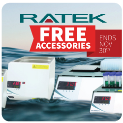 Ratek water bath and block heater free giveaway